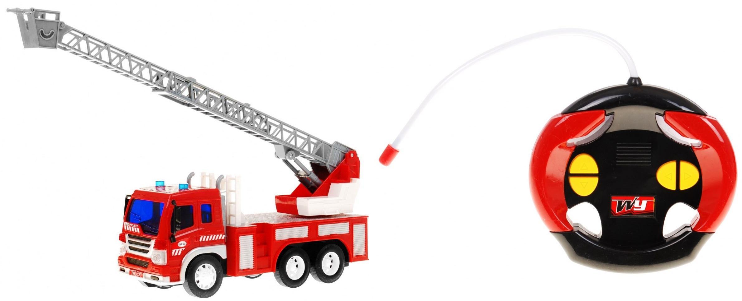 Duża Zdalnie Sterowana Straż Pożarna W Skali 116