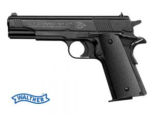 Wiatrówka Colt 1911A1 Full Metal na Śruty Diabolo 4,5mm/Co2.