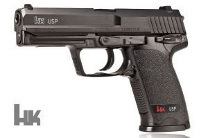 Wiatrówka (replika Heckler&Koch USP) na Śruty BB/BBs 4,46mm/Co2.