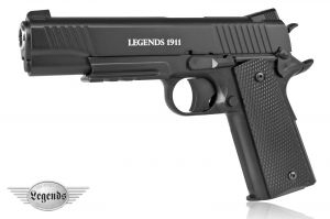 Wiatrówka Colt 1911 Legends Full Metal na Śruty BB/BBs 4,46mm/Co2.