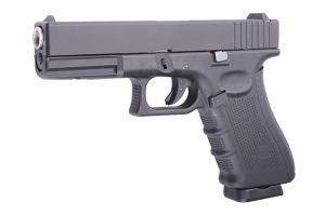 Replika Pistoletu Glock-17 Blow Back na Kule 6mm/Co2.