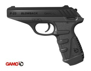 Wiatrówka Gamo P-25 Blow-Back na Śruty Diabolo 4,5mm/Co2.